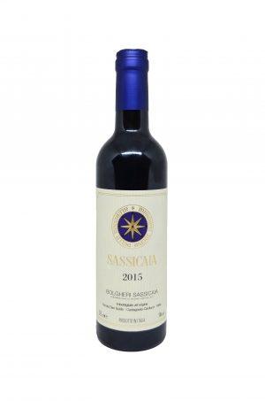 sassicaia 2015 375 ml